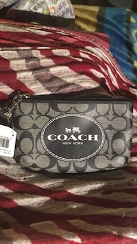 Black and gray coach monogram wristlet Capitol Heights, 20743