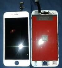 iPhone screens with replacement