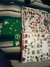All kinds off loins club s pins from 80s Hagerstown