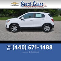 2016 Chevrolet Trax LS Jefferson, 44047