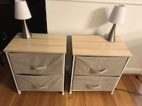 End tables and touch lamps (3 light settings). Selling as a set   Columbia, 21046