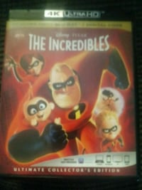 The incredibles dvd has 3 discs  Stephens City, 22655
