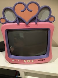pink and purple Disney CRT TV Vaughan, L0J