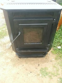 black and gray electric fireplace Lubbock, 79415