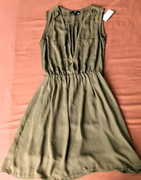 Olive Green H&M Dress.  Edmonton, T5J 2X4