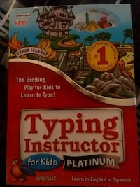 2 CD Typing instructor for kids platinum  Irvington, 36544