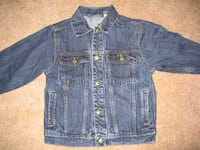 Boys OshKosh Denim Jeans Jackets