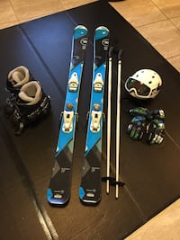 Rossignol Skis, Boots, poles, helmet, goggles,gloves and travel bags.  Las Vegas, 89129
