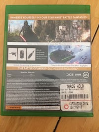 Xbox One Star Wars Battlefront game case Layton, 84041