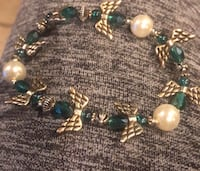 Emerald, pearl angel bracelet  Baltimore, 21213