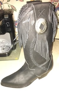 Leather heeled boots Brandon, 39042