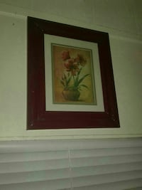 Flower painting by vivian flash signed  Lake Worth, 33463