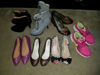 women's assorted pairs of shoes Hagerstown, 21740