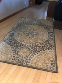 brown and gray floral area rug Bend, 97703