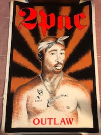 Vintage Blacklight 2pac Posters Antioch, 94509