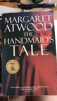 The Handmaid's Tale by Margaret Atwood Vancouver, V6E 1Y8
