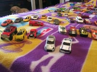 105 toy cars (including hot wheels, matchbox, and maisto.