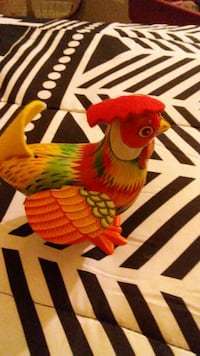 Toy Tin Wind Up Rooster Radcliff