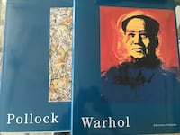 Pollock and Warhol books Burnaby, V3N 4S5