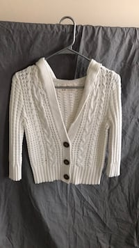 white button-up cardigan Frederick, 21704