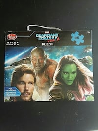 Marvel Guardians of the Galaxy Vol.2 jigsaw puzzle box Plumsted Township, 08533