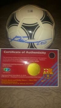 Lionel Messi signed & authenticated  Toronto, M1L 2T3