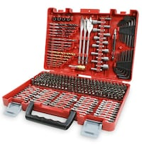 New, unopened, 300-Piece Drill Bit Accessory Kit w/ Carry Case Centreville