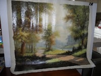 Unframed Oil Painting on Canvas FREDERICK