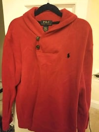 Big boys Polo Sweater-red Woodbridge, 22192