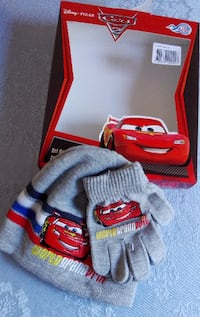 Gorro+guantes Cars Castelldefels