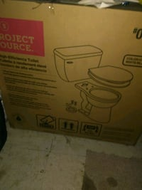brand new toilet in box 47 km