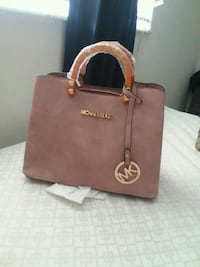 brown Michael Kors leather tote bag Port Richey, 34668