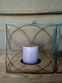 2 Pc Set Wall Mount Candle Holders Santa Fe Springs, 90670