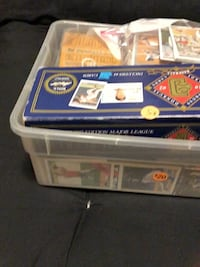 About 3,000 baseball cards