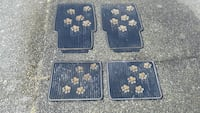 Puppy footprints car mats Victoria, V8Z 7G7