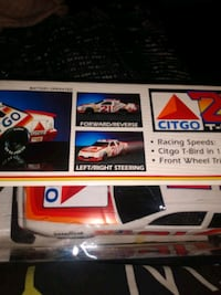 Collectible remote control car, with a matching jacket