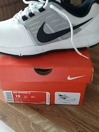 unpaired white Nike low-top sneaker with box Winter Park, 32792