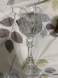 Crystal candle holder  Brampton, L7A 4X5