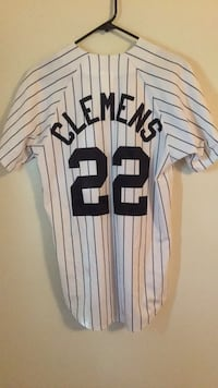 Roger Clemens Yankee Jersey Size Adult Sm Allentown, 18109