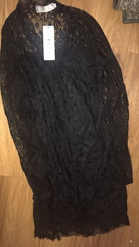 Black lace XL fashion nova dress Kitchener, N2E 3V6