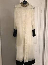 white long-sleeved dress Mississauga, L5R 3S3