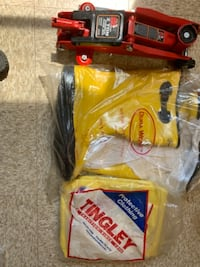 Toruń 2ton Hydraulic Jack tingles rain suit with rubber work boots BALTIMORE