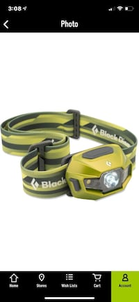 Black Diamond Revolt headlamp. Camping   Hiking. REI