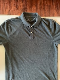 J. Crew dark grey collared shirt