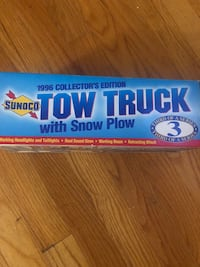1996 collectors edition tow truck w snow plow I have 3 ....$25 @ Bethel, 06801