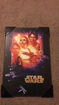 wooden star wars poster Silver Spring, 20902