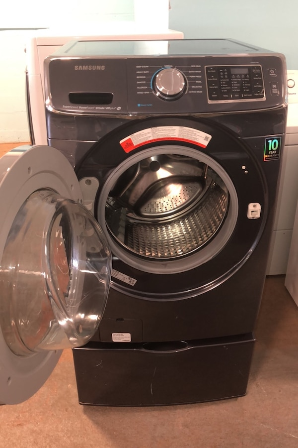 Samsung front load washer 10% off 86a709fe-321a-4100-b65b-593b7e906dac