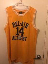 Will smith fresh Prince of Bel Air basketball jersey