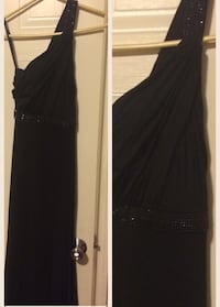 Women's black long gown Lafayette