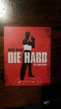 Die Hard - steel case blue ray and dvd Oakton, 22124